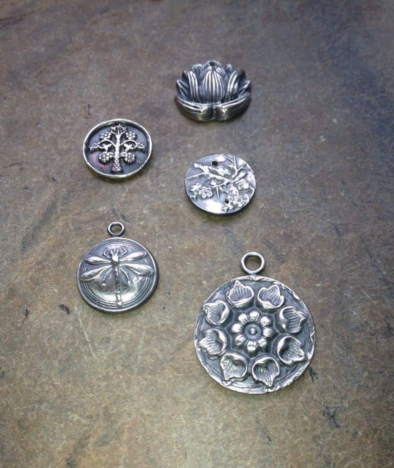 Precious Metal Clay Earrings Studio 34 Creative Arts Center